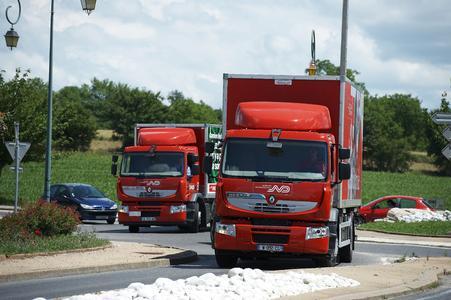 Der Renault Premium Hybrys Tech gehört zum Clean Tech-Programm von Renault Trucks