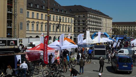 München eMOBIL - Odeonsplatz