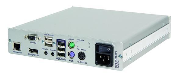 DP-HR modules of digital KVM matrix