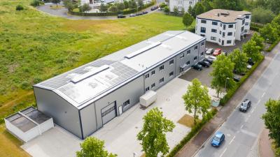 Der Neubau auf dem Firmengelände der SABO Elektronik GmbH bietet viel Platz und ebnet den Weg für weiteres Wachstum