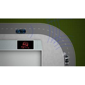 The traffic light assistant (green light) by BMW Motorrad ConnectedRide - a Car-2-X Technology (10/2011)