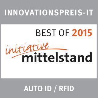 Innovationspreis-IT in der Kategorie Auto ID / RFID für Elatec RFID Systems, Foto: Initiative Mittelstand