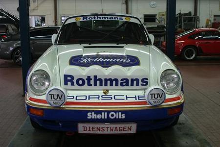 Wird am 22. März um 17:30 Uhr am Stand von TÜV SÜD auf der Retro Classics enthüllt: Porsche 911 SCRS