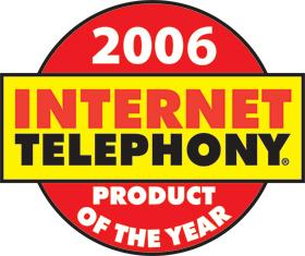 """Internet Telephony """"Best Product of the Year"""""""