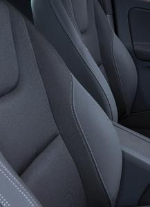 No emissions or odors, the Acella® Eco Green surface material from Benecke-Kaliko on seats ensures good interior air quality and helps to protect the global climate. Photo: ContiTech