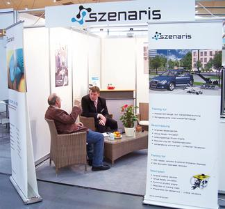 Szenaris will present its services at the AFCEA exhibition in Bonn.