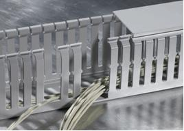 Halogen-free wiring ducts HTWD-HF: safe solution for your application