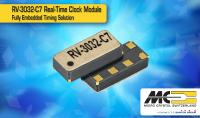 MICRO CRYSTAL's New RV-3032-C7 High Performance Temperature Compensated Real-Time Clock Module with I2C interface