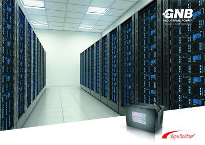 Exide präsentiert neue GNB-Sprinter-Batterie auf Data Center World
