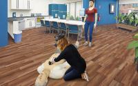 Wie wird die Herzdruck-Massage richtig ausgeführt? In der Defibrillator-Schulung von sam®-VR können Beschäftigte lebensnah auch die korrekte Frequenz und Drucktiefe einüben.