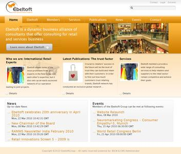 Relaunch Ebeltoft Website