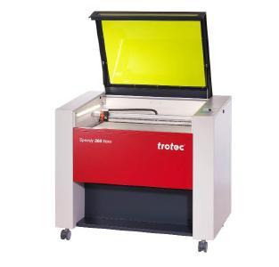 Speedy 360 flexx - Lasergravurmaschine (Quelle: Trotec)