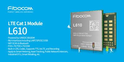 LTE Cat.1 Modul L610 von Fibocom