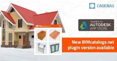New in Autodesk App Store: Plugin delivers BIM objects with LOD/LOG for Autodesk Revit & AutoCAD Architecture