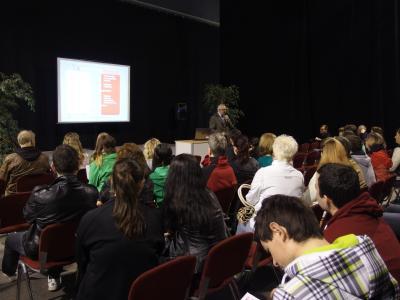 Informative Vorträge zum Thema Ausbildung und Studium