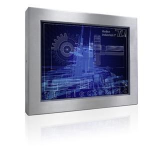 38,1 cm (15-inch) bis 54,6 cm (21,5-inch) Edelstahl-Panel-PC rundum IP65-geschützt
