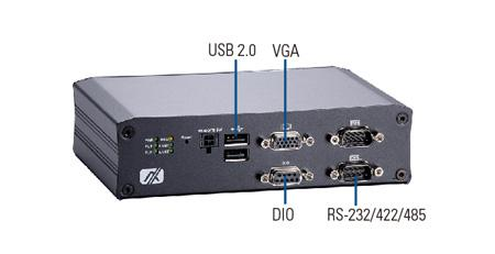 Transportation Embedded Computer for Vehicle, Railway and Marine Markets- Axiomtek tBOX810-838-FL