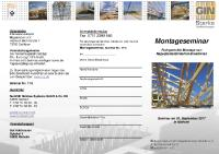 [PDF] Anmelde-Flyer GIN-Montage-Seminar