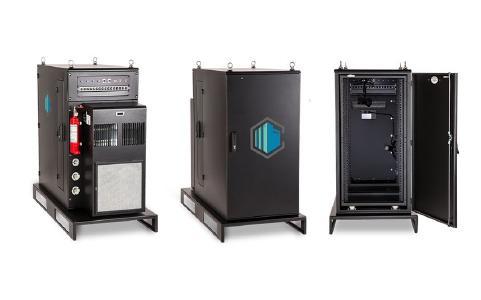 Für die modulare Erweiterung von Bestandsrechenzentren, als schlüsselfertige Storage-Lösung oder zum Aufbau von RZ-Außenstellen kommt das Mini Edge-System zum Einsatz