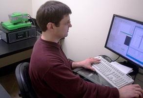 Dr. Alexey Krasnoslobodtsev working with the JPK ForceRobot®300 system