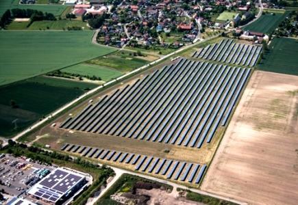 Solarpark Weißenfels von Green City Energy