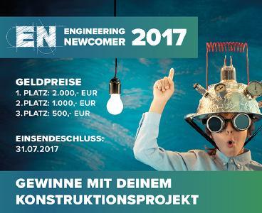 Teilnahme am Engineering Newcomer 2017