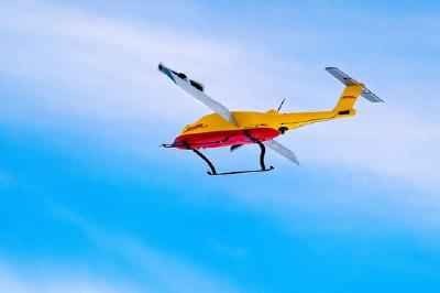 And the German Mobility Prize goes to...  the DHL parcelcopter