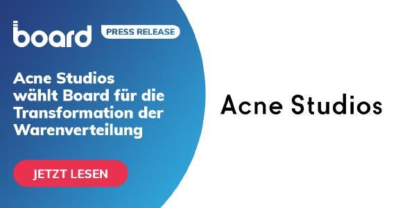 Acne Studios wählt Board für die Transformation der Warenverteilung