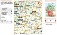 Beispiel für eine map von ars navigandi
