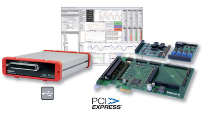 In the pipeline for Productronica 2009: DAQ systems for USB and PCIe from bmcm
