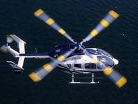 Eurocopter presents the first EC145 Stylence at EBACE 2009