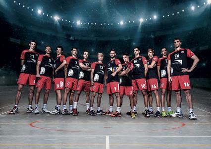 Die Erstliga-Volleyballmannschaft United Volleys