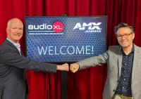 Marco Thiele - Regional Sales Manager Netherlands at AMX by Harman / William van Druten - General Manager AudioXL