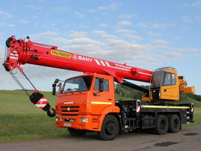 PALFINGER SANY launches Truck-mounted Telescopic Crane - world premiere at CTT 2014 in Moscow