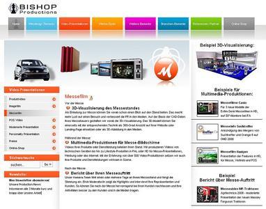Bishop Website Messefilm
