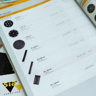 sia Abrasives AG Kataloge