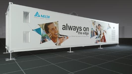 Delta stellt auf der CeBIT 2017 seine Stellung als Komplettlösungsanbieter für Rechenzentren unter Beweis