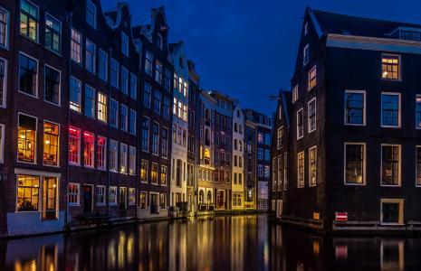 Amsterdam - dasVenedig des Nordens...