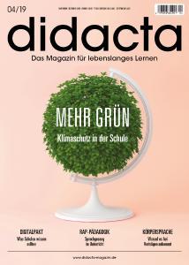 Titel didacta - Das Magazin für lebenslanges Lernen Ausgabe 4/2019