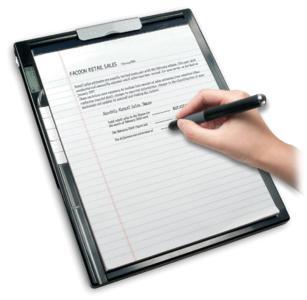 Elektronische Original-Unterschrift optimiert Geschäftsprozesse/Quelle Aiptek