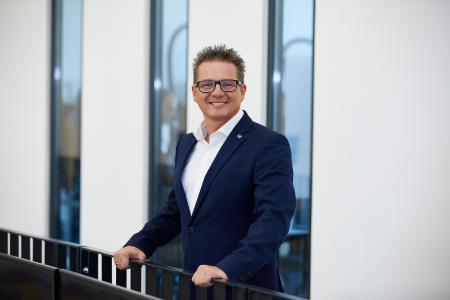 Olaf Leonhardt, der neue Vorstandsvorsitzende der Scheugenpflug AG / Bild: Atlas Copco