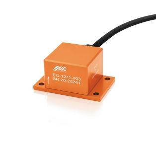Hochpräzise und robust zugleich: Die Sensoren der ASC EQ-Serie eignen sich ideal für seismische Messungen, das Structural Health Monitoring und Noise-Referenzmessungen (im Bild: ASC EQ-1211)