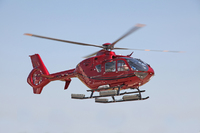 American Eurocopter Delivers First WAAS EC135 to Paradigm Helicopters