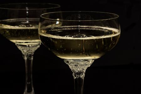 Ein ausgesuchter Champagner...
