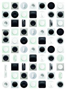 Die Schalter der neuen Berker GENERATION R.: sympathische Oberflächen, klare Formen, überzeugende Qualität und enorme Vielfalt.