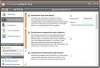 FrontFace Lockdown Tool Screenshot