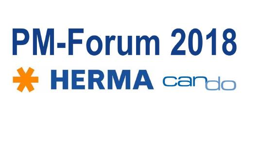 HERMA und Can Do zeigen modernes Demand Management per Webservice Technologie beim PM Forum 2018