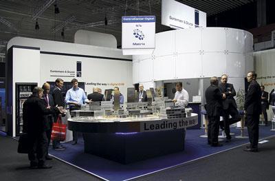 Fair booth of Guntermann & Drunck GmbH