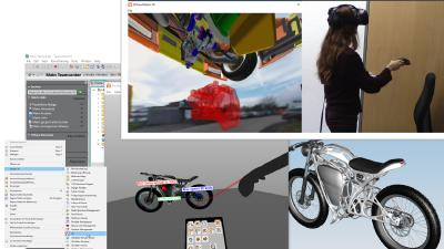 Boosting performance for VR sessions with complex CAD data