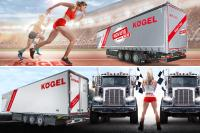 Kögel to show two exhibits at Transport Compleet Hardenberg 2019